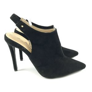 Anne Michelle Riseup 06 Slingback Heels Pointed